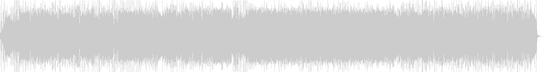 サイケ・ファンク・ロックに竹横笛メロディの未再生の波形