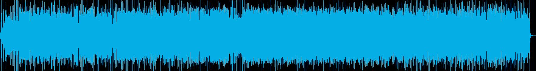 サイケ・ファンク・ロックに竹横笛メロディの再生済みの波形