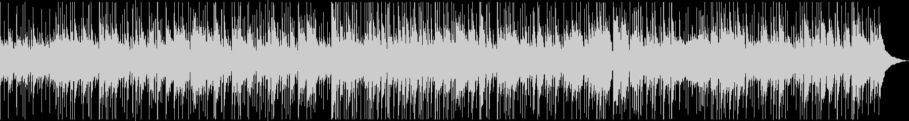 ゆったりしたピアノのジャズバラードの未再生の波形