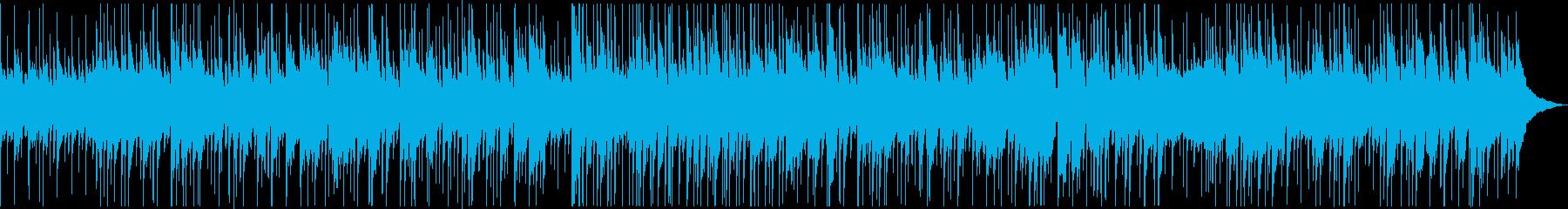 ゆったりしたピアノのジャズバラードの再生済みの波形
