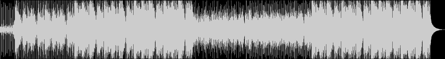オリエンタルバックグラウンドトラックの未再生の波形
