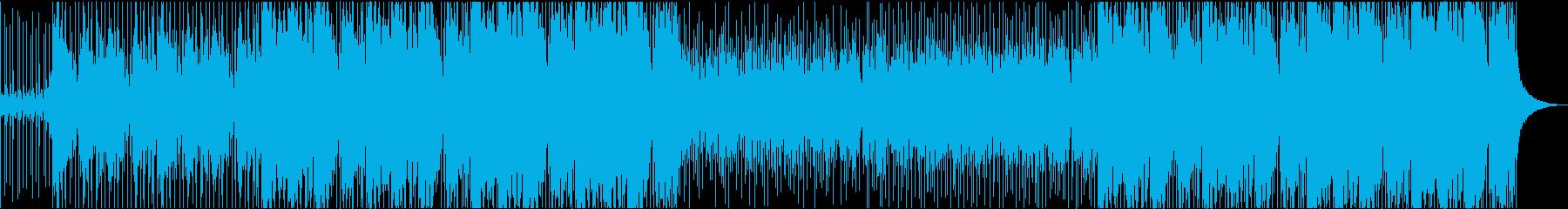 オリエンタルバックグラウンドトラックの再生済みの波形