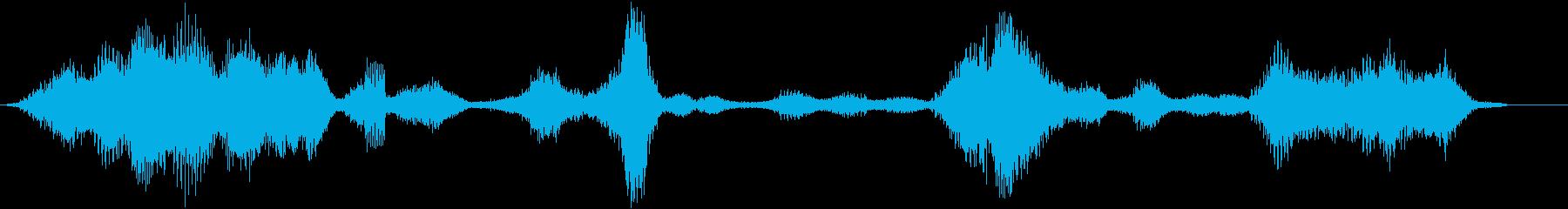ELECTRO VOCALクリーチ...の再生済みの波形