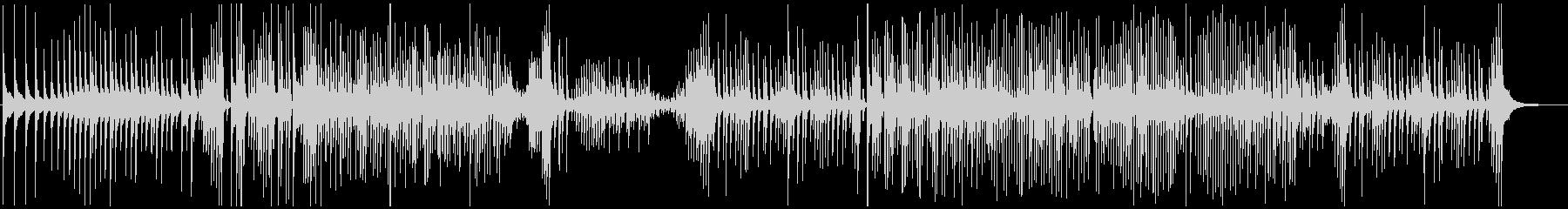 津軽三味線ソロ-A、激しい、疾走、声入りの未再生の波形