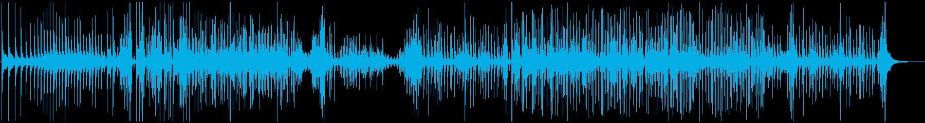 津軽三味線ソロ-A、激しい、疾走、声入りの再生済みの波形