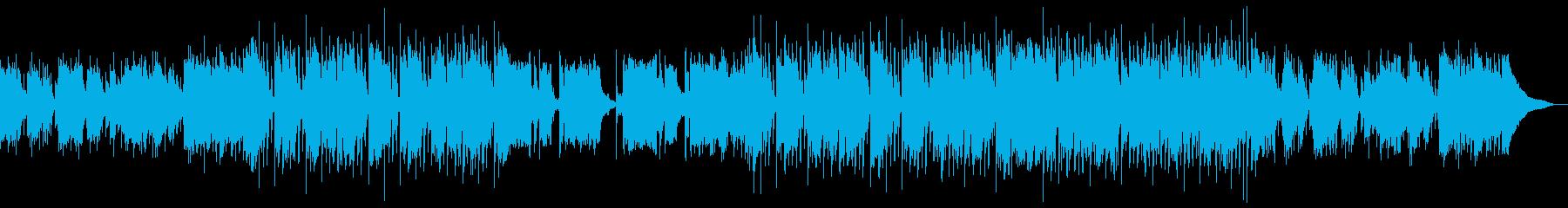 おしゃれでムーディーな店舗用BGMジャズの再生済みの波形