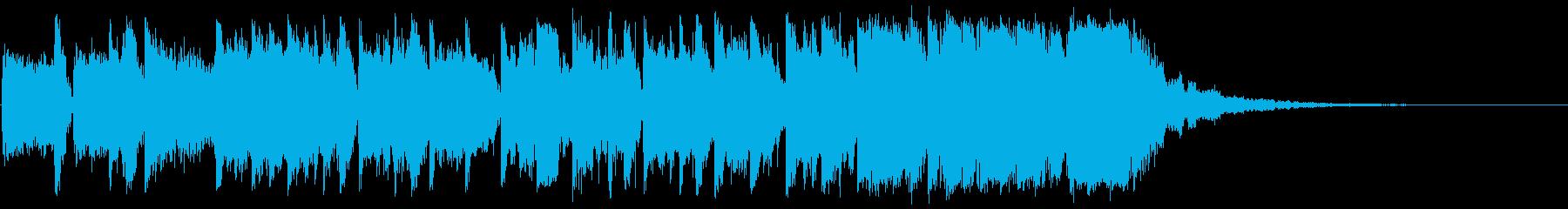 トイピアノのエレクトロニカポップの再生済みの波形