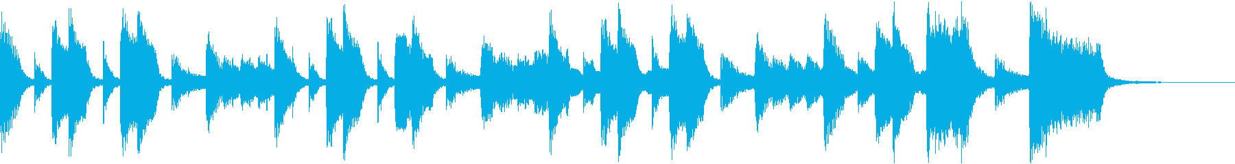 Comical naughty cute fun CM d's reproduced waveform