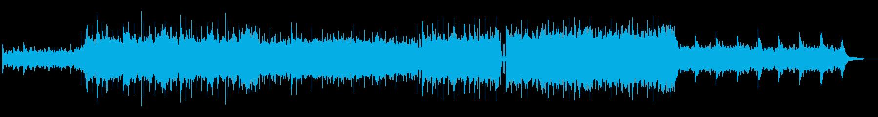 アコギがメインのエモいポップスの再生済みの波形