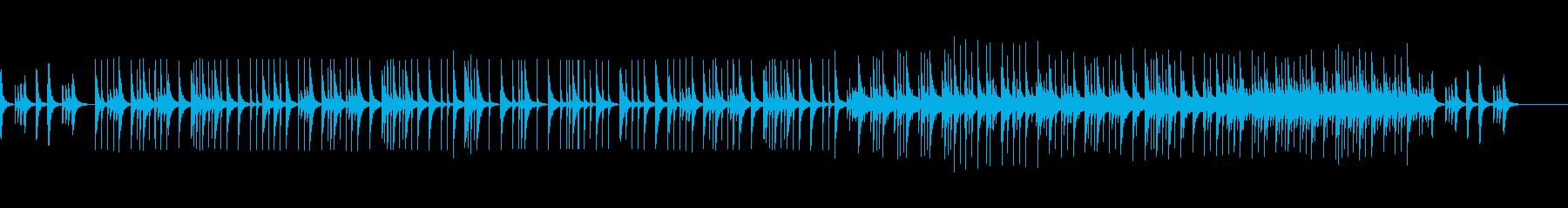 ピアノで奏でる少し切ないBGMの再生済みの波形