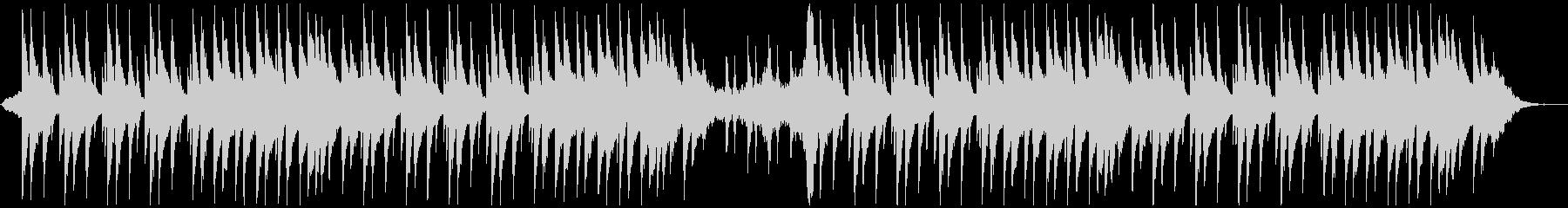 ピアノと鳥の声、Lo-Fi、チルの未再生の波形