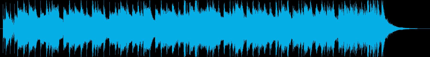 軽快爽やか楽しい夏ハワイレゲエラテン曲eの再生済みの波形