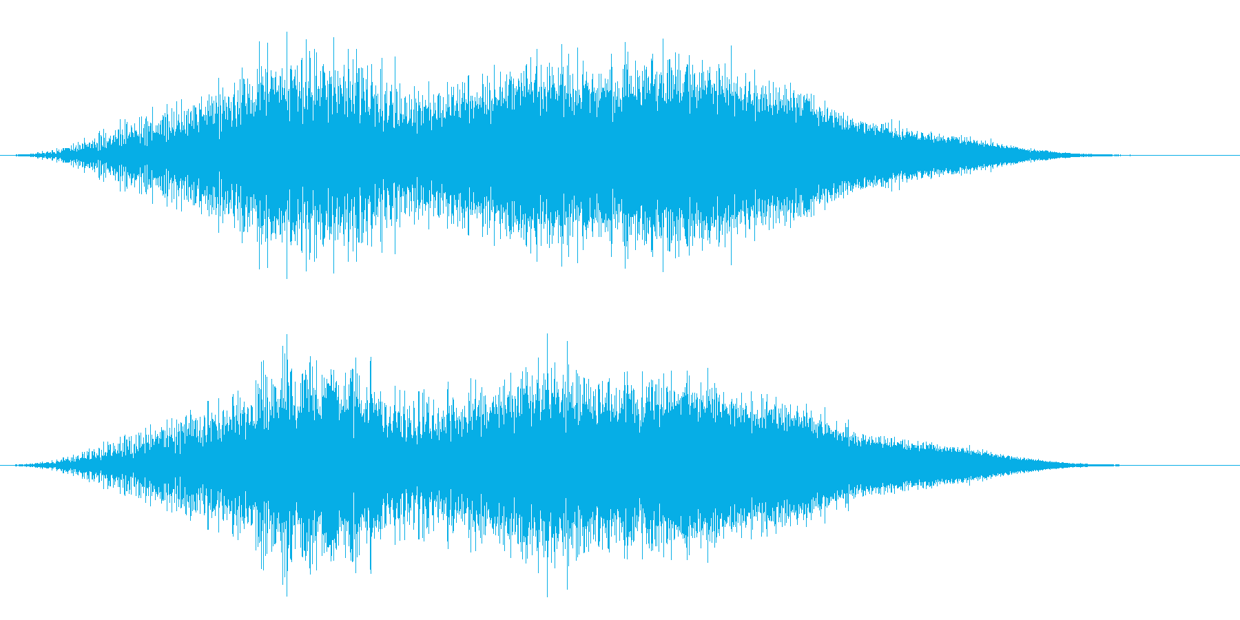 宇宙船エイリアンUFOの離陸の再生済みの波形