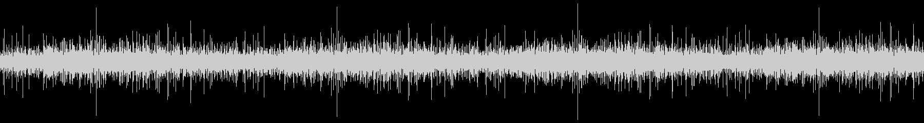 グツグツ鍋の音(ループ)の未再生の波形