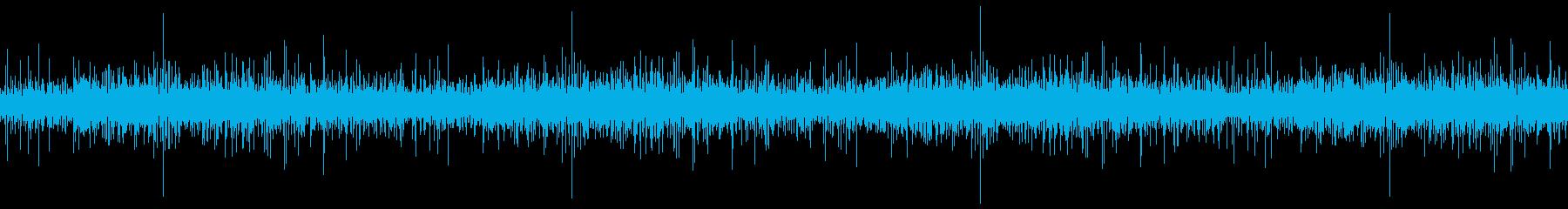 グツグツ鍋の音(ループ)の再生済みの波形
