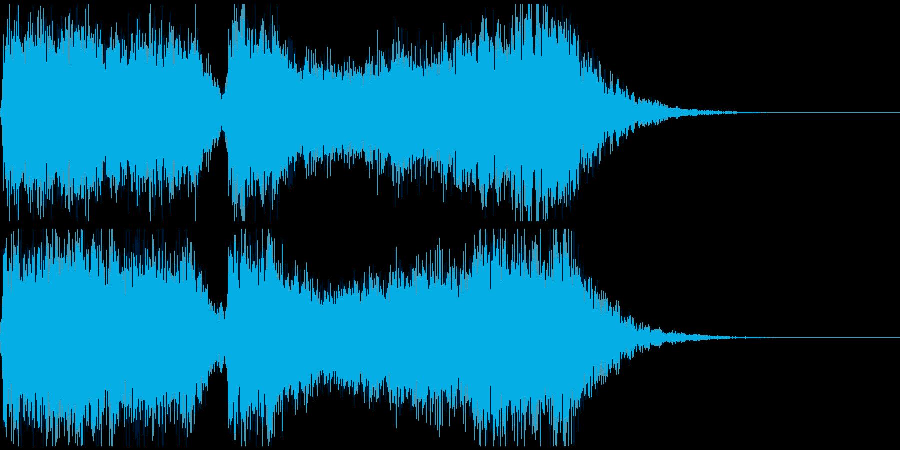 巨大怪獣/戦艦登場シーンの超重厚な曲2の再生済みの波形