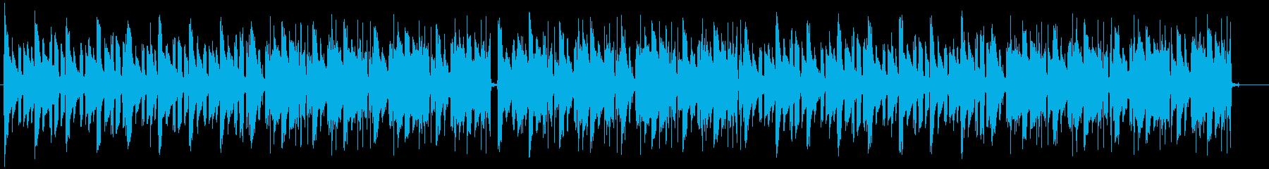 メロウでゆったりした大人っぽいLofiの再生済みの波形