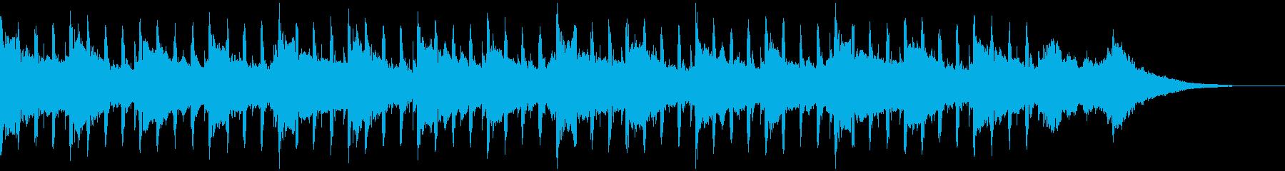 ソフトインタビュー(40秒)の再生済みの波形