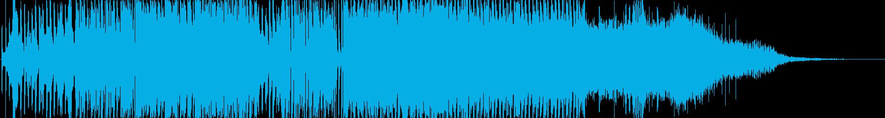ナイトショーで使えそうなBGMの再生済みの波形
