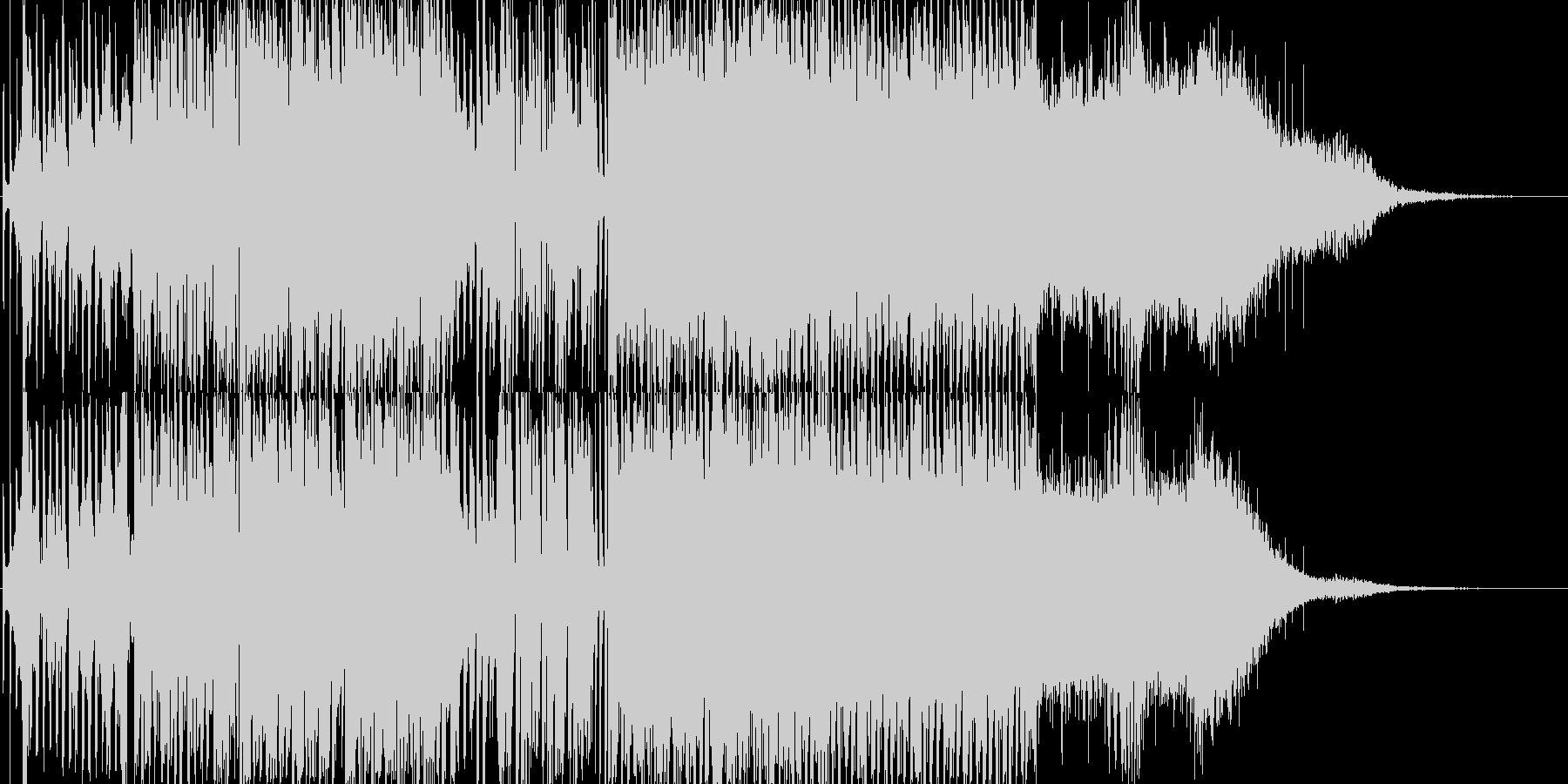ナイトショーで使えそうなBGMの未再生の波形