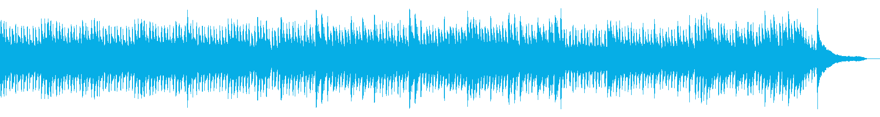 静かな印象的なピアノの旋律の再生済みの波形