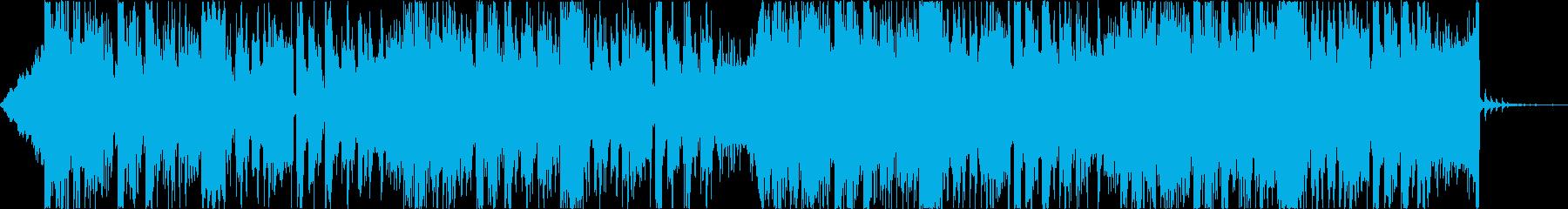 緊迫デジタルダークシネマティックEDMcの再生済みの波形