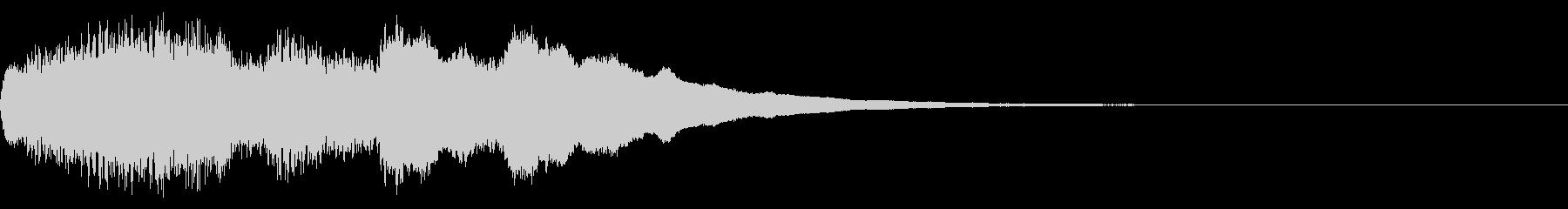 クリスマスベル お知らせ チャイム 03の未再生の波形
