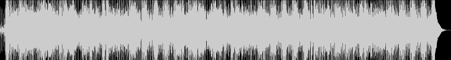 孤高のネズミをイメージしたロックの未再生の波形