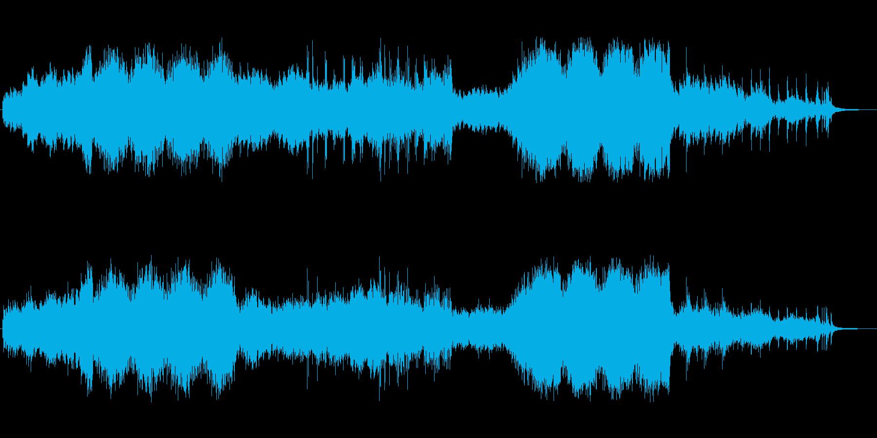 トレーラー(予告編):ハリウッド風の再生済みの波形