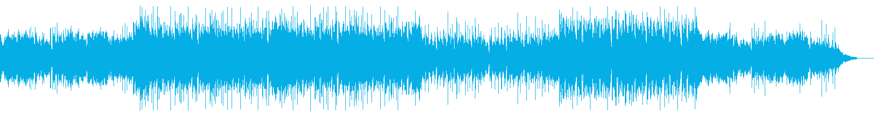 流行のダウンビートポップ。おしゃれモダンの再生済みの波形