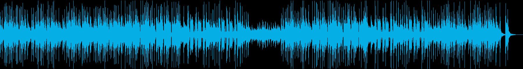 ハロウィン、洋館をイメージ怪しく不気味曲の再生済みの波形