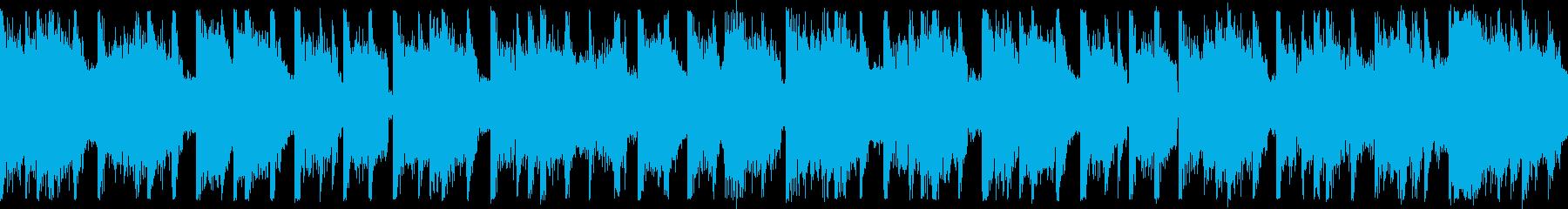 ダンスエクササイズBPM130:ショートの再生済みの波形