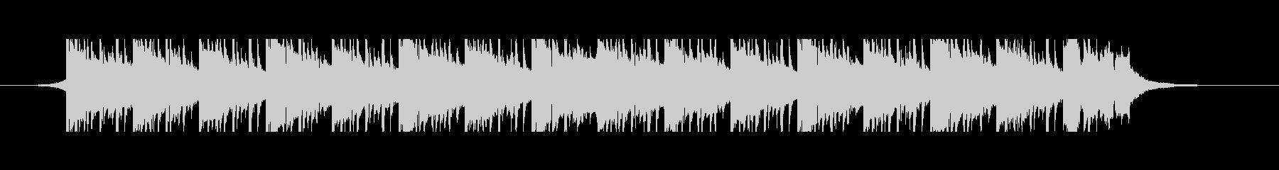 医療音楽(45秒)の未再生の波形