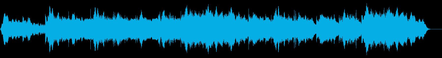 プラネタリウムや宇宙をイメージしたBGMの再生済みの波形