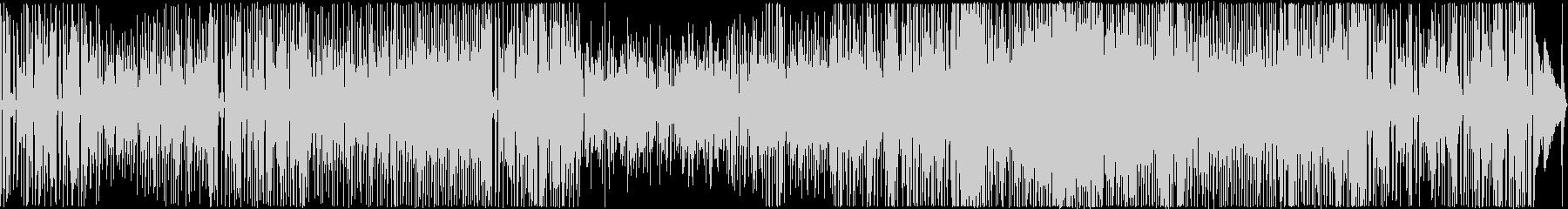 躍動感のあるピアノトリオの未再生の波形