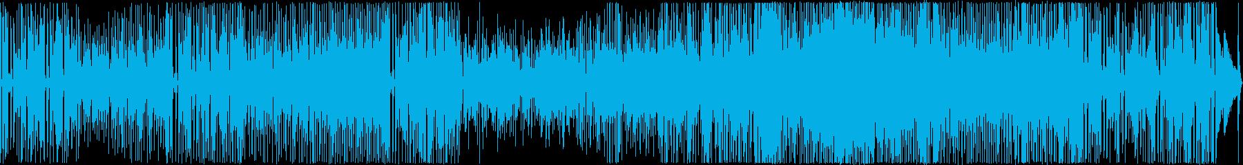 躍動感のあるピアノトリオの再生済みの波形