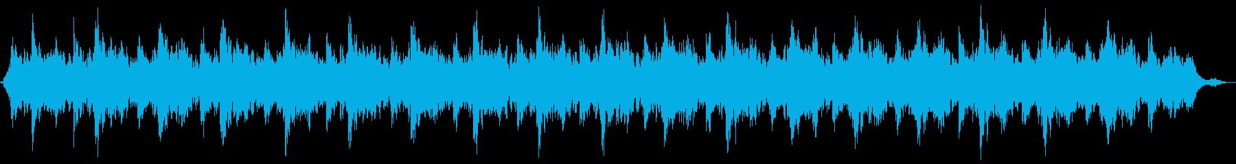 安らぎのギターアンビエントの再生済みの波形