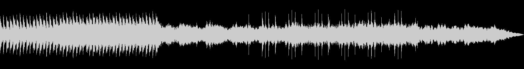 夏 森の中 幻想的 ピアノ曲の未再生の波形
