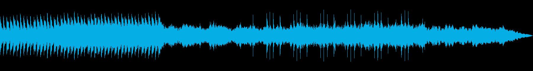 夏 森の中 幻想的 ピアノ曲の再生済みの波形