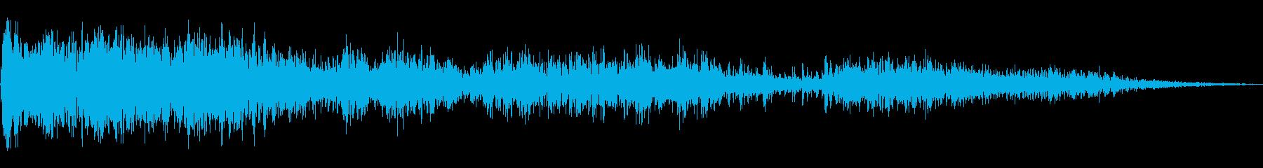 大規模なサンダークリップ;ヴィンテ...の再生済みの波形
