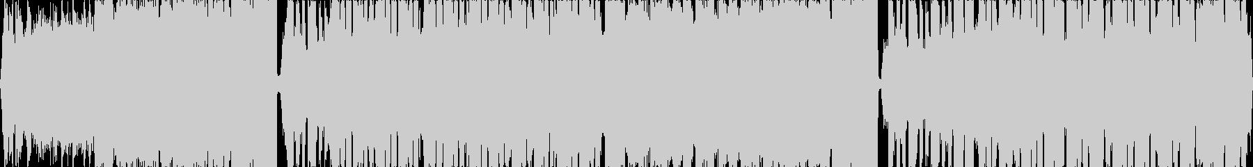 カットボーカルが印象的なエレクトロの未再生の波形