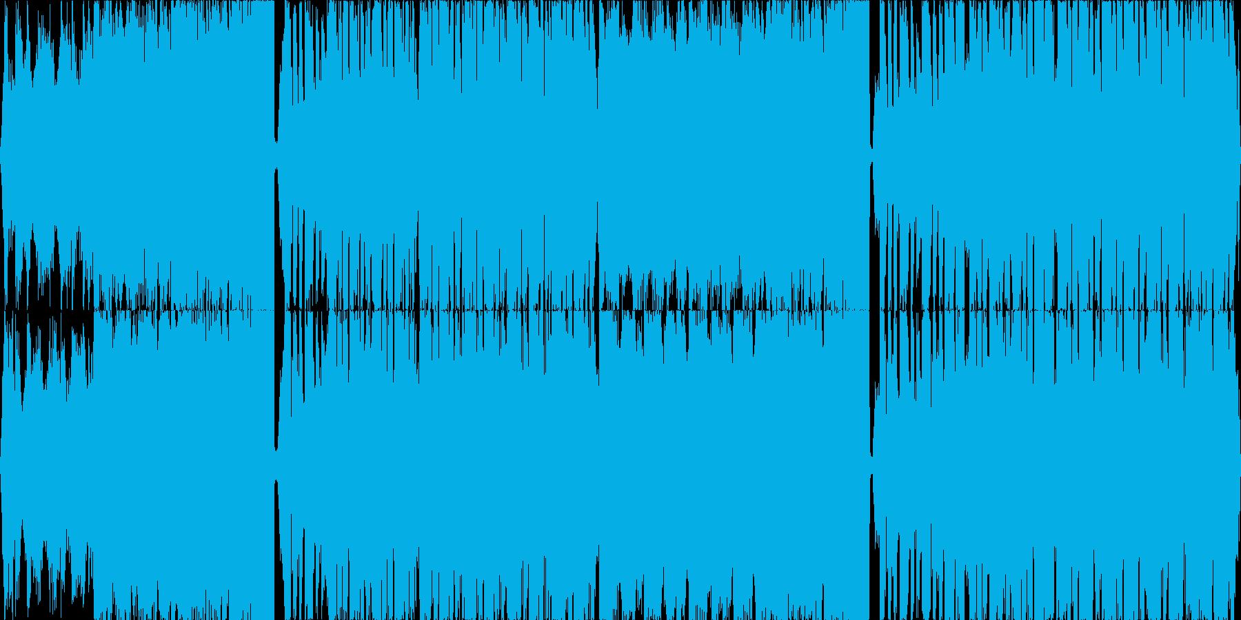 カットボーカルが印象的なエレクトロの再生済みの波形