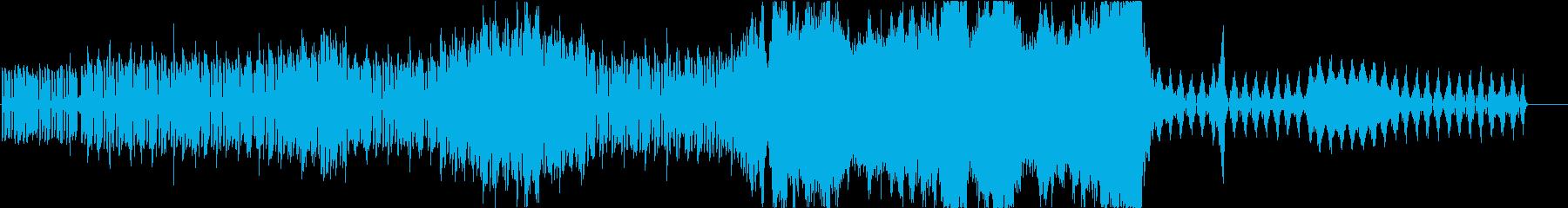 【オーケストラ】シンセループから壮大への再生済みの波形