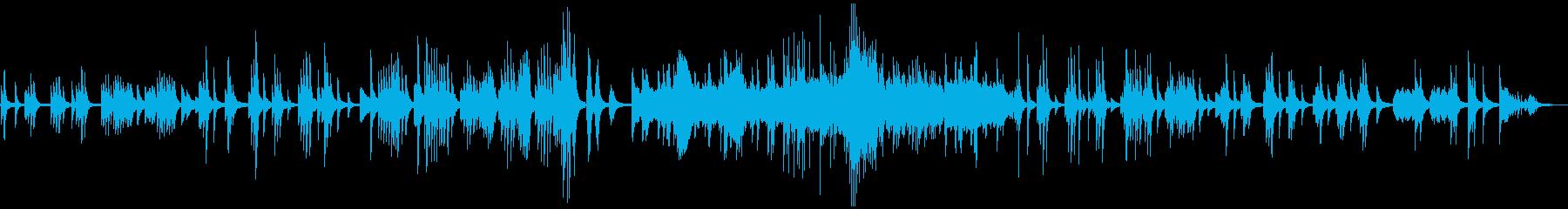 ドビュッシー ベルガマスク3 月の光の再生済みの波形