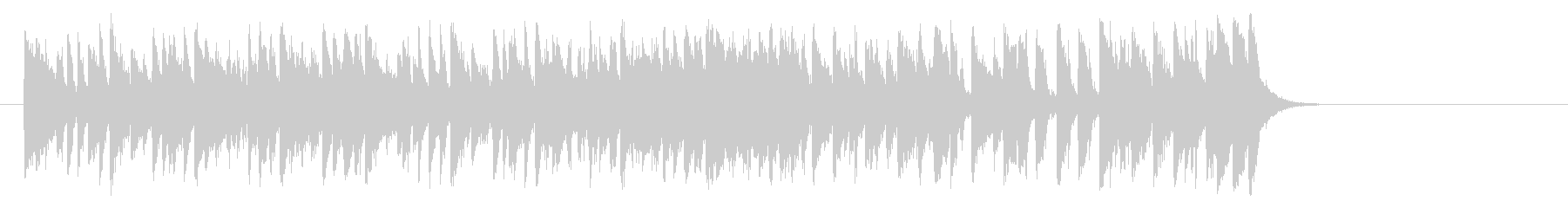 夏のフュージョンポップ(サビ~イントロ)の未再生の波形
