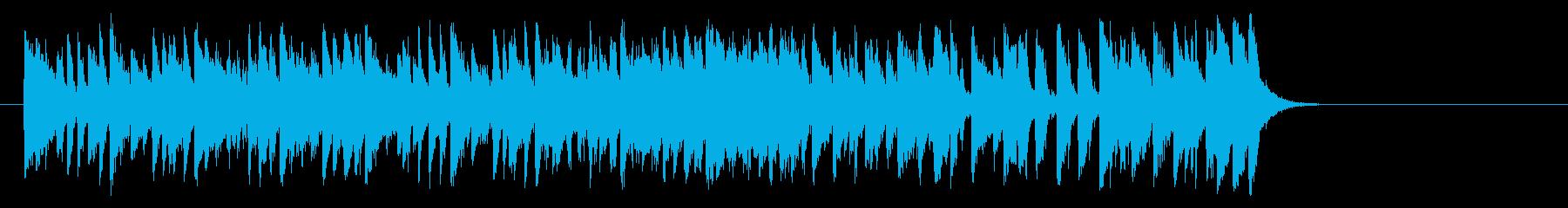 夏のフュージョンポップ(サビ~イントロ)の再生済みの波形
