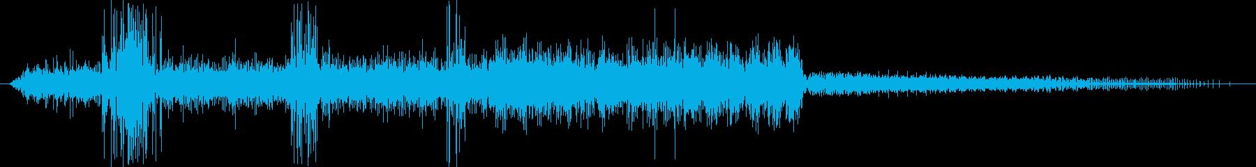 自転車ギア/チェーン:シフトギア;...の再生済みの波形
