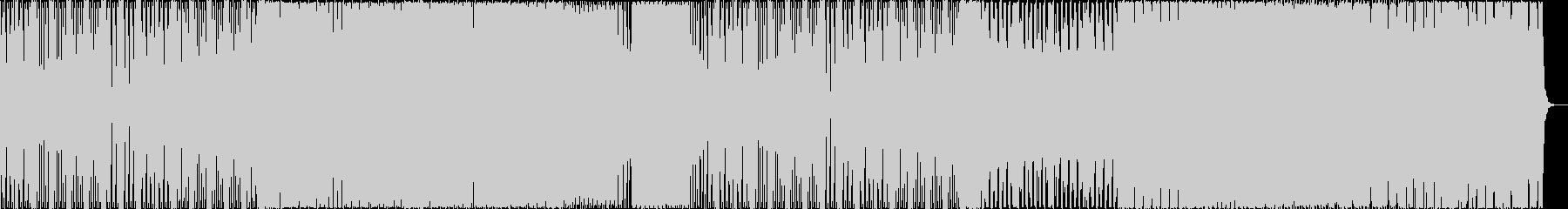 トラップとブロステップの雰囲気のEDMの未再生の波形