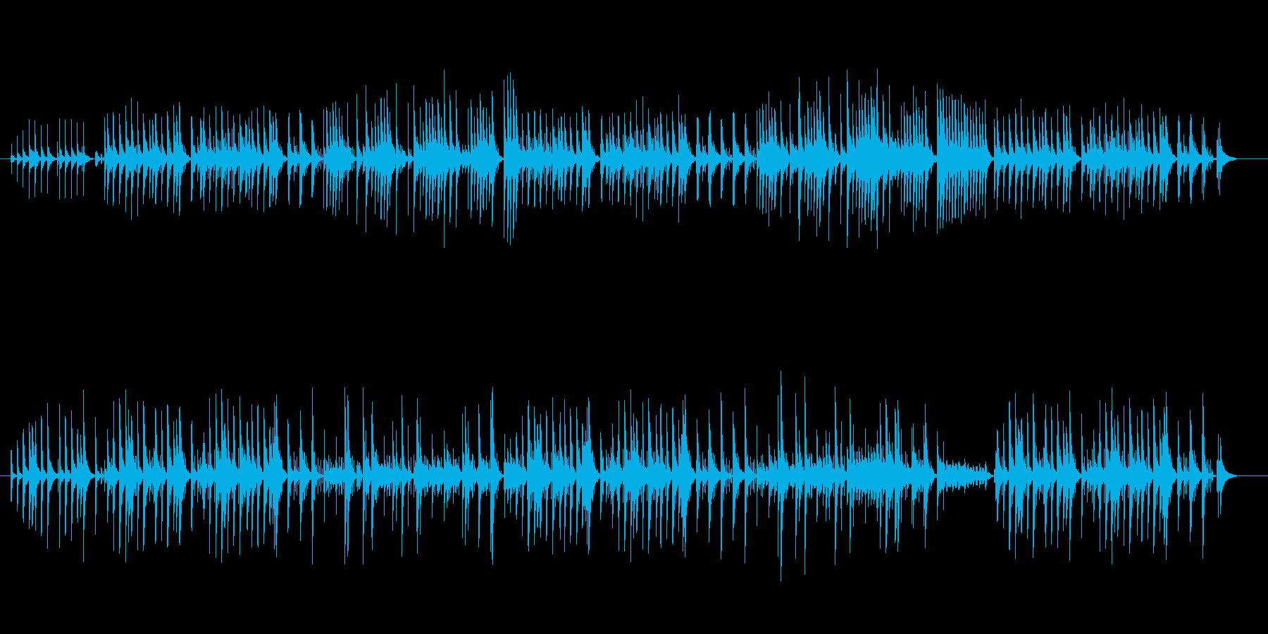 オルゴール楽曲です。エスニックな感じが…の再生済みの波形
