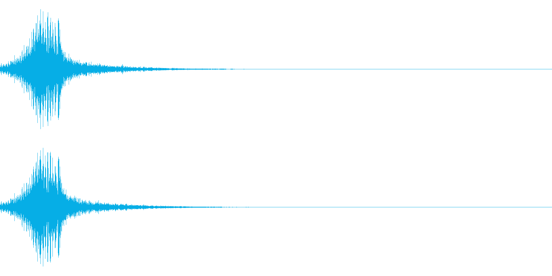 シュクゥォの再生済みの波形
